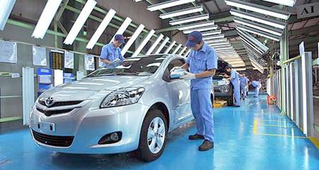 sản xuất, công nghiệp, ô tô, chính sách, thuế, nhập khẩu, đầu tư, rủi ro, thị trường, tiềm năng.