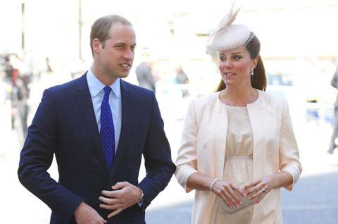 Nước Anh hồi hộp chờ Công nương Kate 'lâm bồn'