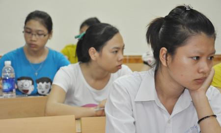 điểm thi, điểm chuẩn, đại học, 2013