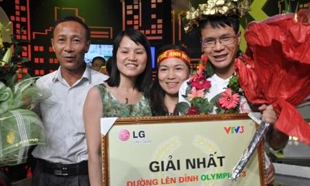 nam sinh, Bắc Giang, vô địch, Olympia, 2013, thủ khoa