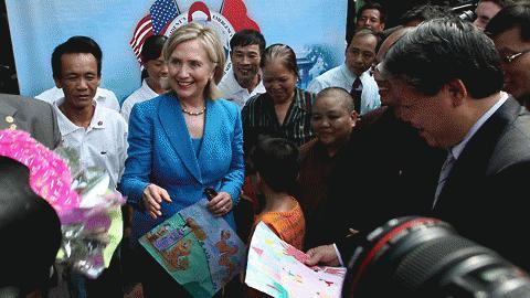 Chủ tịch nước, Trương Tấn Sang, Clinton