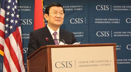 Chủ tịch nước khẳng định lập trường về Biển Đông