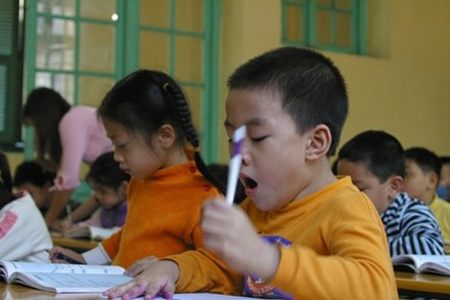 học sinh, phụ huynh, học hè, Hà Nội