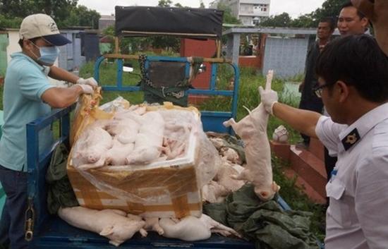 Thực phẩm, gạo mốc, thịt heo qua, người tiêu dùng, lợn sữa, thịt bẩn thịt lợn, bẩn, hàn the, giò chả,bẩn