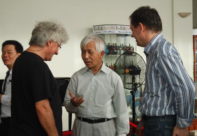 Gặp gỡ Việt Nam, Trung tâm quốc tế khoa học và giáo dục liên ngành, Quy Nhơn, Trần Thanh Vân
