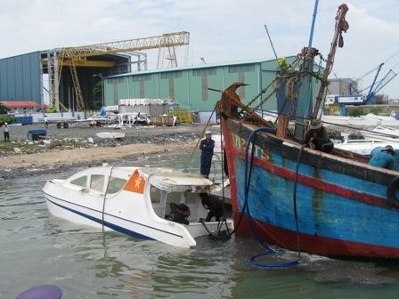 Miền nam - Bộ Công an điều tra vụ chìm tàu ở Cần Giờ