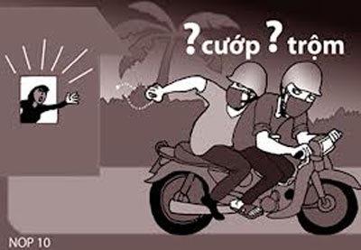 trộm cắp, lừa đảo