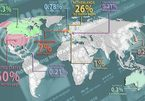 """Công bố bản đồ các """"cường quốc"""" web khiêu dâm thế giới"""