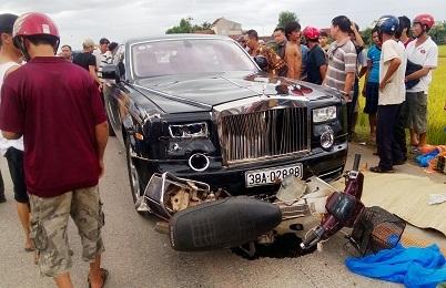 Miền trung - Đại gia Thạch là người lái Rolls–Royce đâm chết 2 người