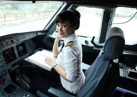 Nữ phi công, máy bay