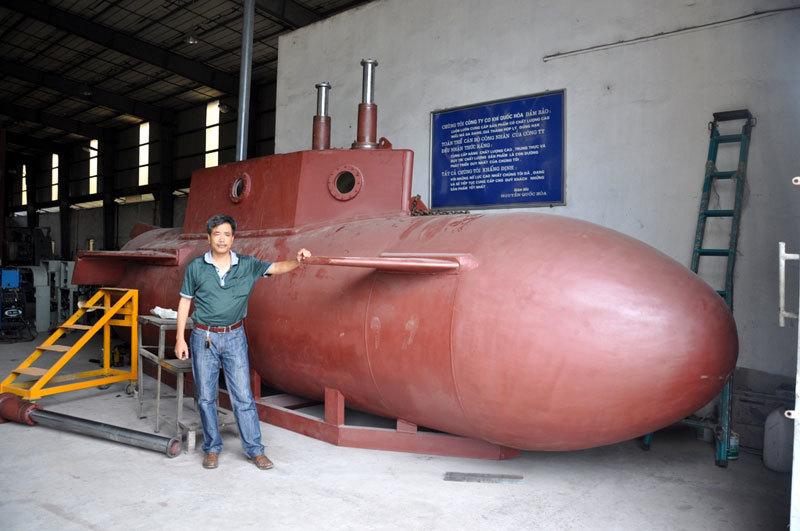 tàu ngầm, doannh nhân, giám đốc