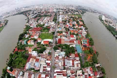Sài Gòn, khác lạ, tuyệt đẹp, không trung, nhiếp ảnh gia, Giản Thanh Sơn