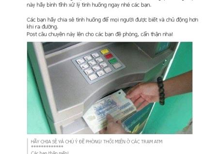 ATM, đối tượng, Iphone, lừa đảo, thôi miên