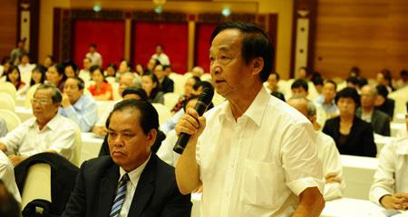 mặt trận, MTTQ, Nguyễn Thiện Nhân, phản biện, giám sát, Tương Lai, Nguyễn Lân Dũng