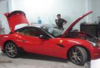 Siêu xe Ferrari California độ của chồng người mẫu Ngọc Thạch