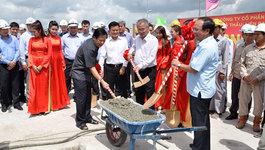 Hợp long cầu gần 1.500 tỷ đồng ở cửa ngõ Sài Gòn