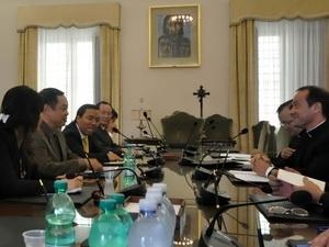 Đoàn Ban Tôn giáo Chính phủ thăm Vatican