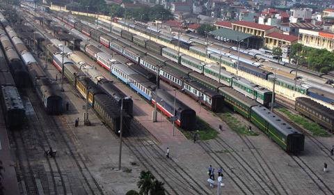 Xây dựng cầu vượt trong ga Hà Nội, Sài Gòn