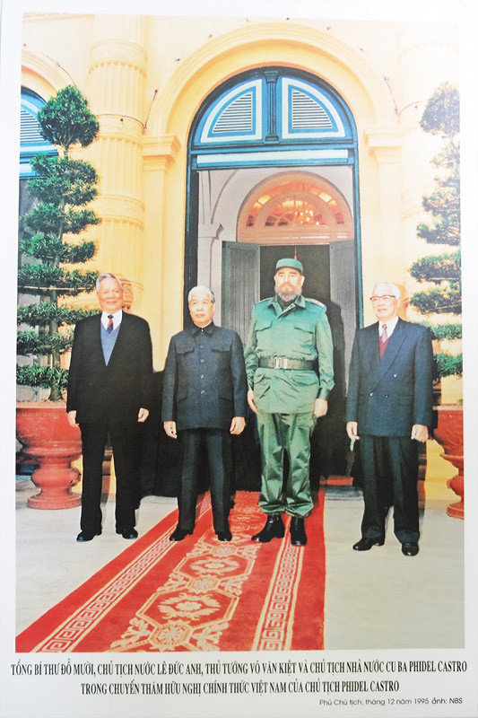 Nguyễn Bắc Son, Fidel Castro, Bộ TTTT