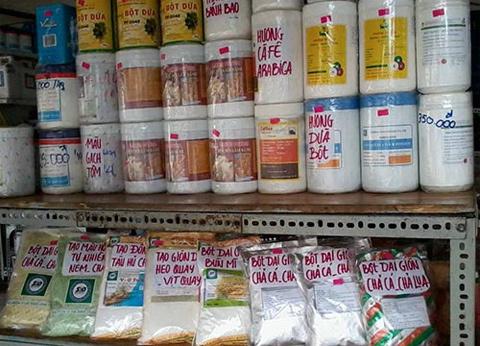 Cốt dừa, mắm cá... từ hóa chất Trung Quốc