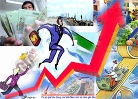 kinh tế VN, lạm phát, nợ công, điều hành kinh tế, đòn bẩy kinh tế, bất ổn vĩ mô