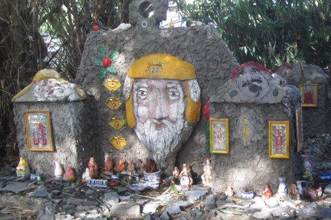 """Cận cảnh """"nghĩa địa đầu người"""" tại Tây Ninh"""