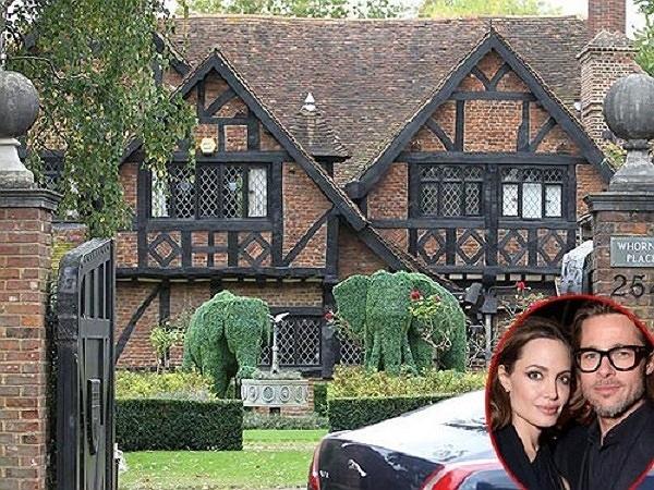 Brad Pitt,  Angelina Jolie, biệt thự