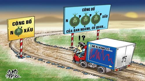 kinh tế VN, diễn đàn kinh tế mùa thu, nợ xấu, số thống kê, thất nghiệp, phá sản