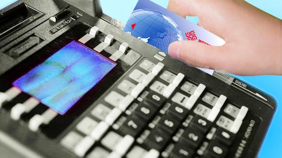 thẻ, quốc tế, rút tiền. pos