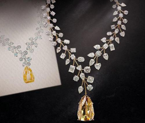 kim cương, vòng cổ, đắt nhất thế giới