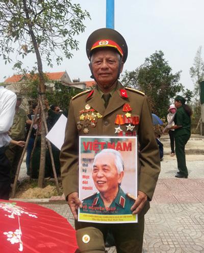 Quảng Bình, nghẹn ngào, Đại tướng