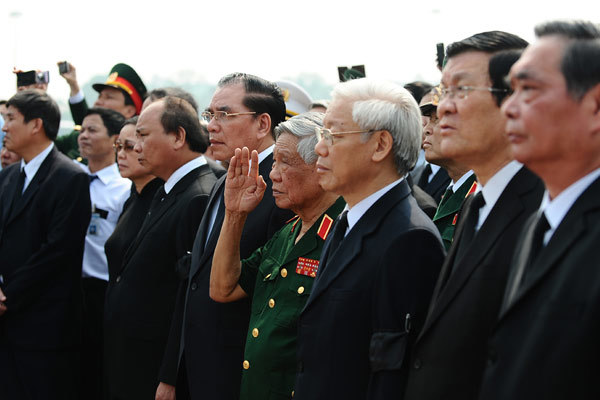Hà Nội tiễn đưa Đại tướng