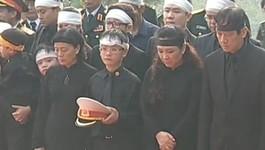 Hình ảnh các cháu của Đại tướng tại lễ hạ quan