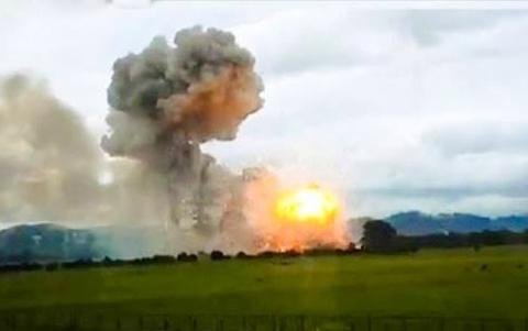 pháo hoa, Phú Thọ, Z121, nổ, Thanh Ba, tan hoang