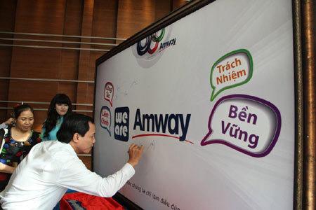 quy tắc kinh doanh, minh bạch, Amway VN, nhà phân phối