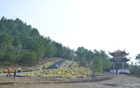 Võ Nguyên Giáp, Đại tướng, Vũng chùa, Đảo Yến, viếng mộ, người dân