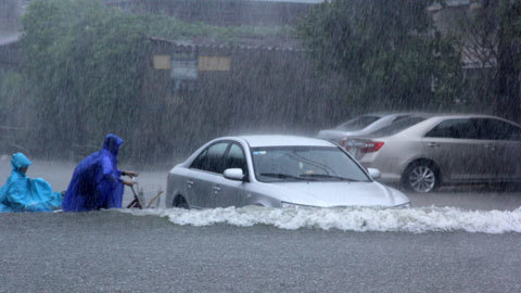 Tp Hà Tĩnh; mưa ngập; lũ