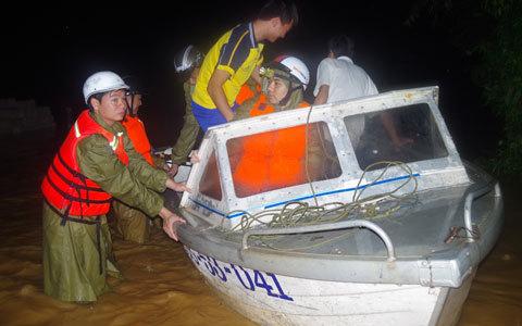 lũ lụt, ngập, bão số 11