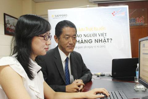 Giao lưu trực tuyến: Vì sao người Việt tin hàng Nhật?
