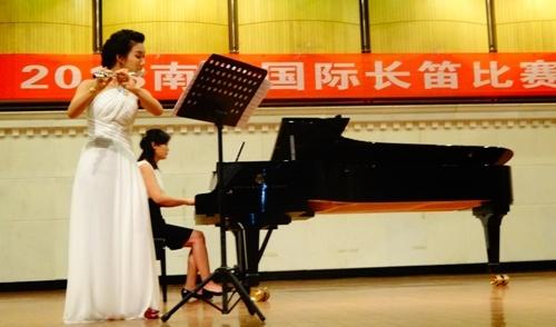 Nguyễn Ly Hương, giải Nhất, sáo flute, quốc tế, Nam Ninh Trung Quốc,