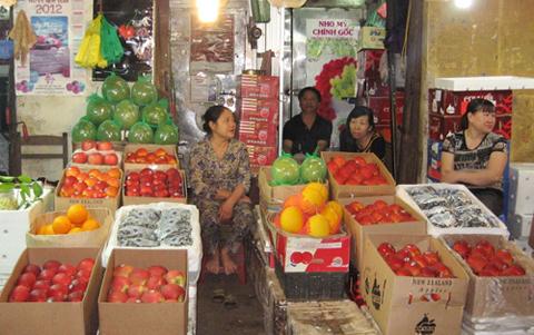 Trái cây nhập khẩu: Thật giả lẫn lộn