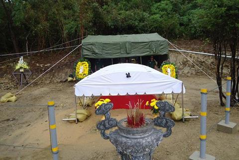 Đại tướng, Võ Nguyên Giáp, tiểu đội, đặc biệt, viếng, mộ, khu mộ