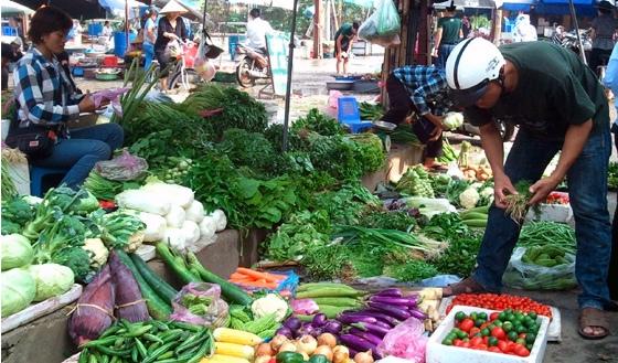 rau, rau an toàn, an toàn thực phẩm, chợ đầu mối, Hà Nội, Ban quản lý