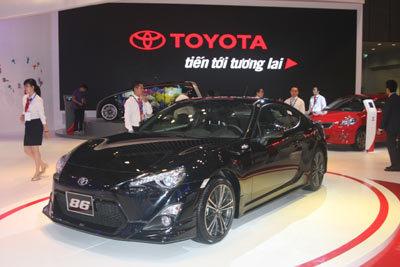 Toyota, triển lãm, ôtô VN
