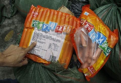 hôi thối, thực phẩm bẩn, kinh hãi, người tiêu dùng, hoang mang, thịt lợn, thịt gà, ốc bươu vàng