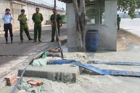 xả thải, ô nhiễm, Hào Dương, nước thải