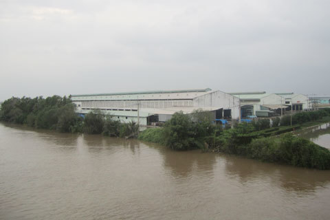 Phạt, môi trường, thanh tra, công ty, sông Đồng Điền