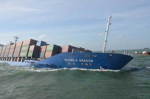 đâm nhau trên biển, tàu chở 700 container, bị chìm, Vũng Tàu, Sài Gòn
