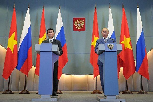 TT Nga thăm Việt Nam, Putin, xoay trục châu Á, đối tác kinh tế
