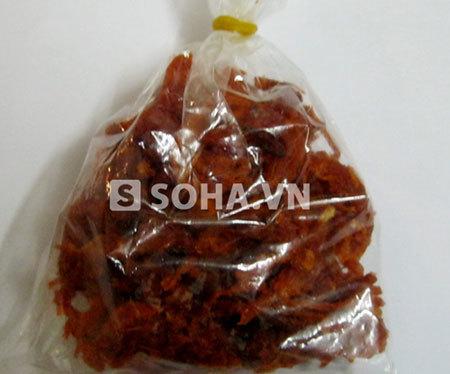 Thêm sản phẩm thịt bò khô bị nghi là hàng rởm